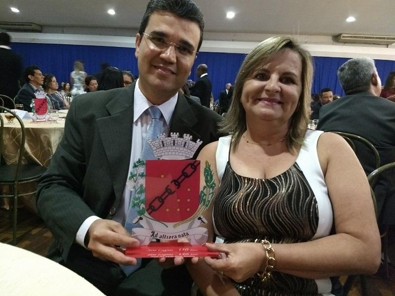 Homenagem Câmara Municipal de Vereadores 150 anos de Sete Lagoas.