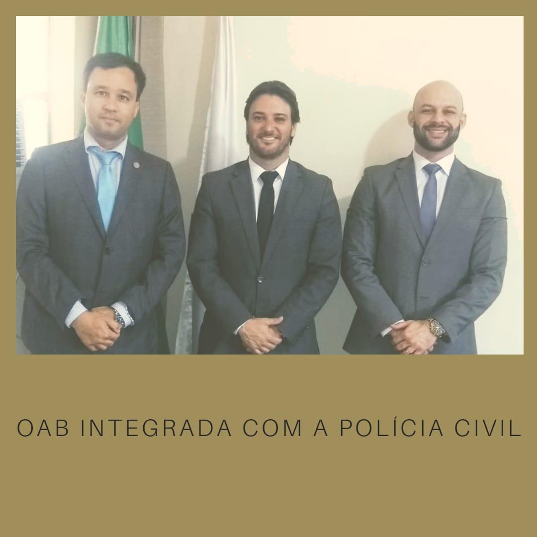 Reunião com Delegado Regional da Polícia Civil trata temas relevantes para a advocacia Setelagoana