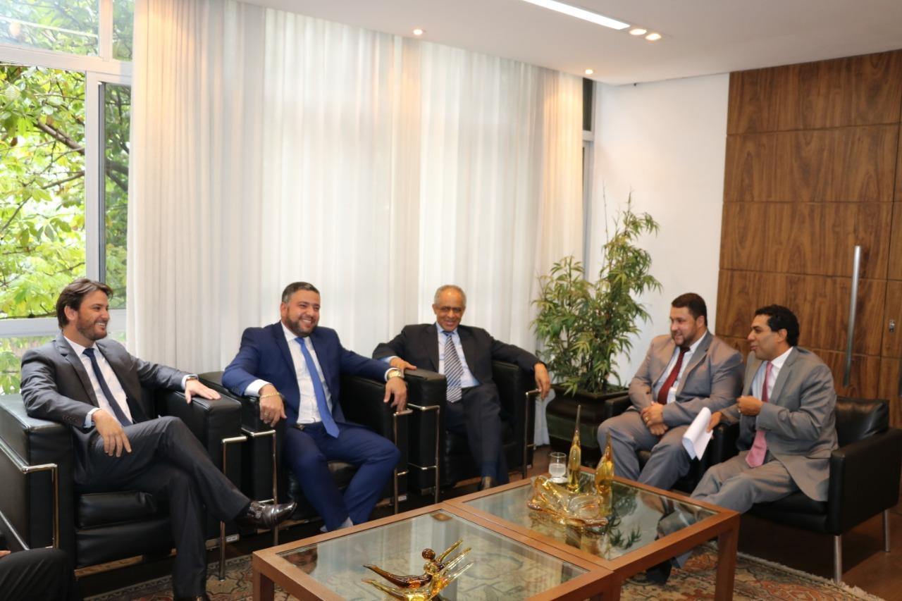 Reunião da OAB Sete Lagoas com Diretoria da Seccional trata de temas de interesse da Classe