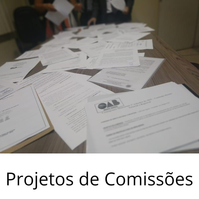 Prorrogação para divulgação de projetos de comissões