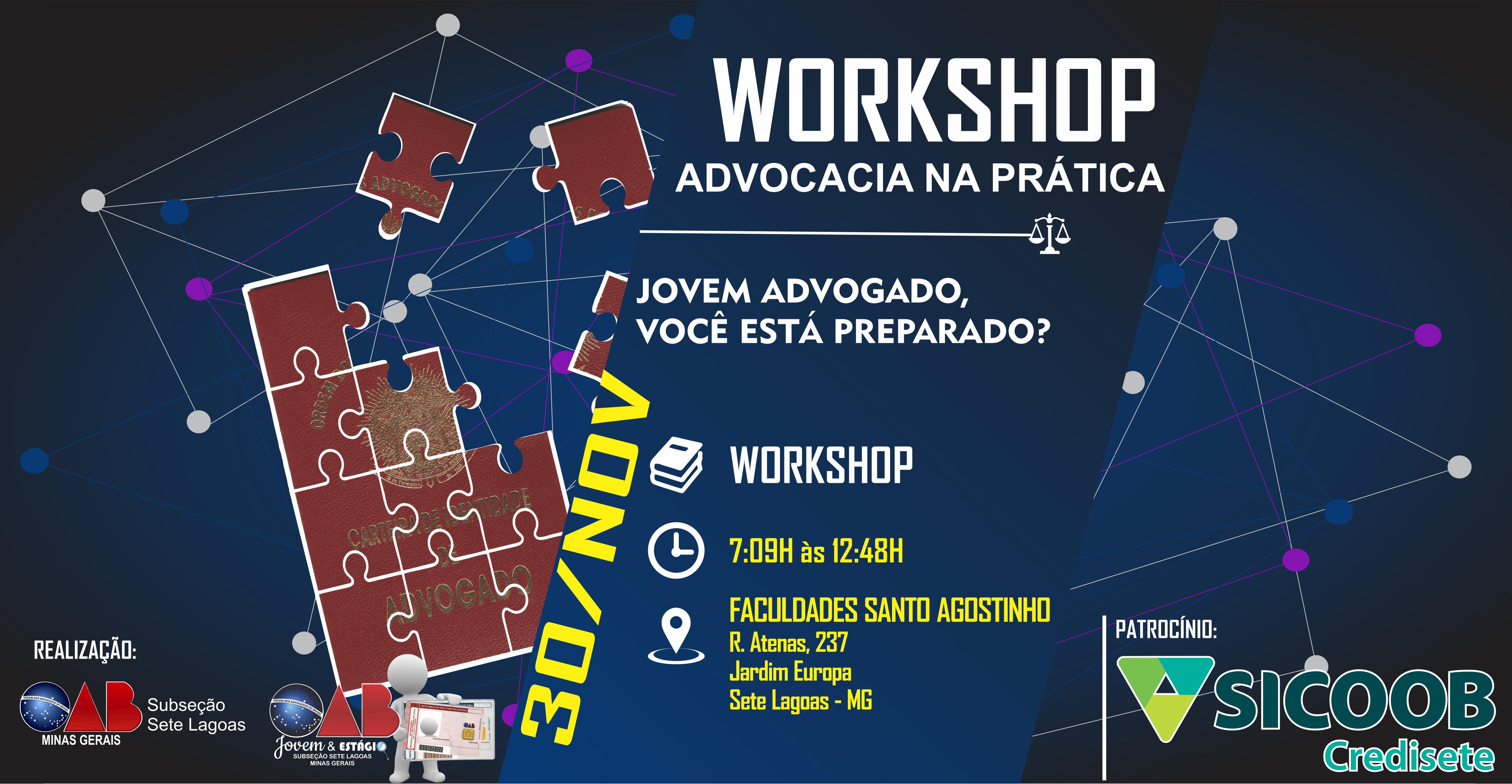 Workshop ADVOCACIA NA PRÁTICA